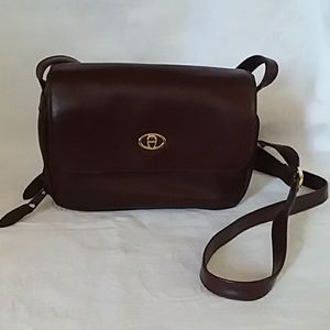 Classic Etienne Aigner Leather Bag